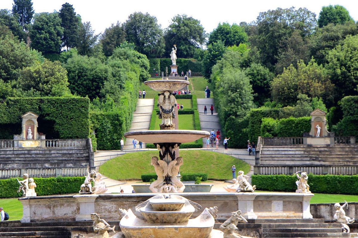 Il giardino di boboli parco storico nel cuore di firenze - I giardini di boboli ...