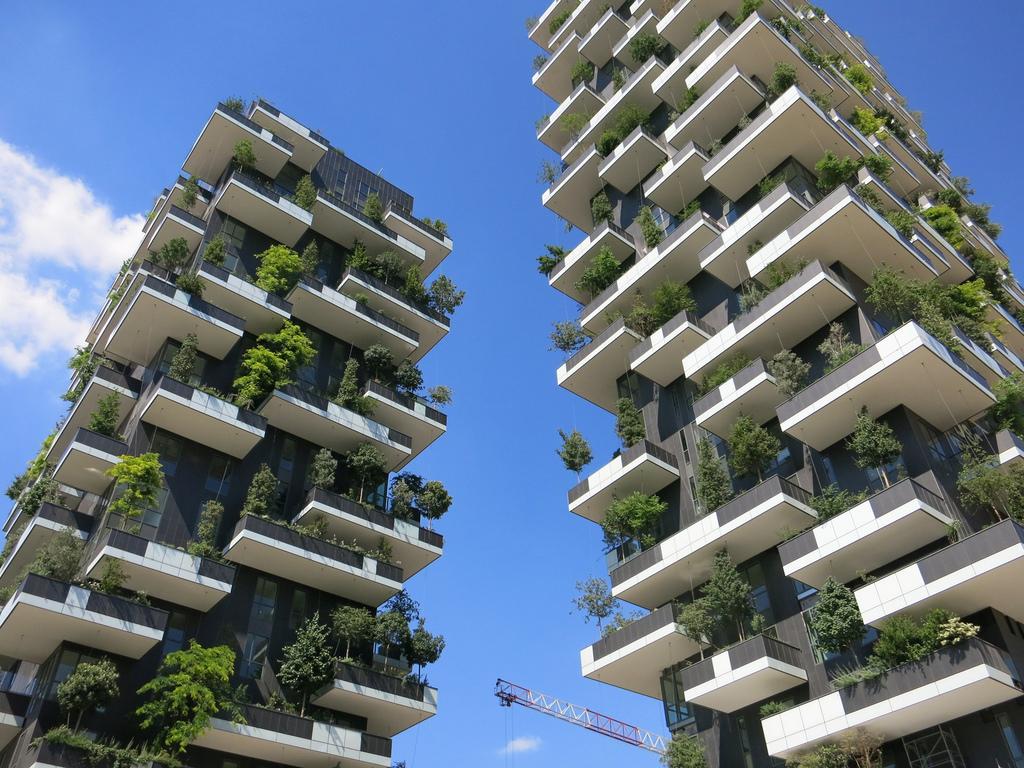 Architettura verde: milano ed il bosco verticale